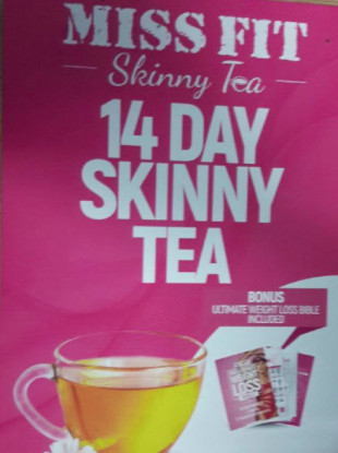 A batch of recalled 'Miss Fit 14 Day Skinny Tea'