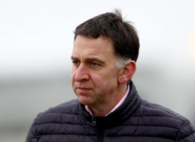Trainer Henry De Bromhead (file pic).