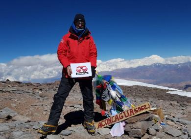 Derek Mahon's summit picture
