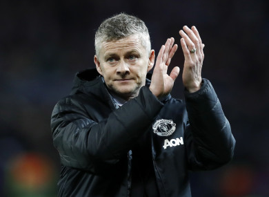 Ole Gunnar Solskjaer after Tuesday's reality check against PSG.