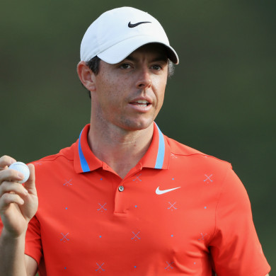 Out in front: Northern Ireland's Rory McIlroy.