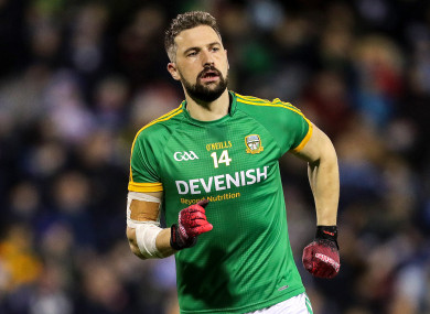0-4 for Michael Newman as Meath won tonight.