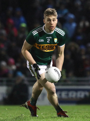 Peter Crowley punched over a late winning point against Dublin at Austin Stack Park.