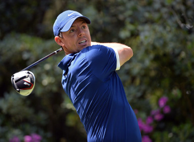 McIlroy during the third round of the WGC-Mexico Championship.