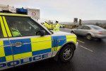 Police Service Northern Ireland vehicles (file photo)