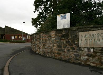 Leyhill minimum-security Prison in Gloucestershire, UK.