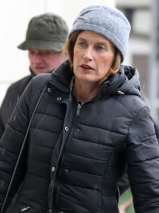 File photo. Mary Lowry arriving at the Criminal Courts of Justice.