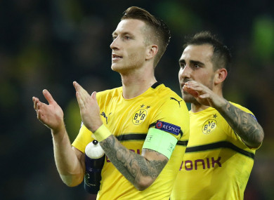 Marco Reus and Paco Alcacer are both ruled out of Dortmund's Wembley trip.