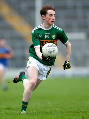 Ruaidhri Ó Beaglaoich hit the levelling point today in Fitzgerald Stadium.