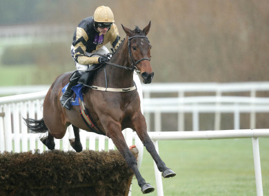 Ruby Walsh will be on board Bellshill today.