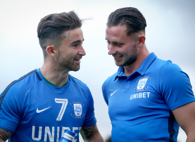 Sean Maguire and Alan Browne starred for Preston last night.