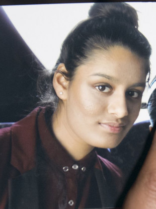 Shamima Begum, who fled the UK to join the Islamic State terror group in Syria aged 15, and was stripped of her British citizenship.