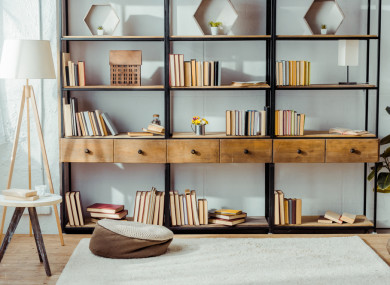 Turn the page: 6 brilliant bookshelves that'll add ...