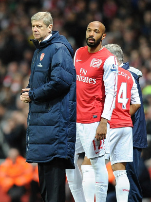 The pair enjoyed a long period of success together with Arsenal.