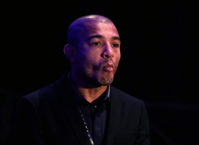 Former UFC featherweight champion, José Aldo.