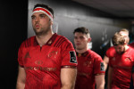 Beirne made his return from injury for Munster despite training all week with Ireland.
