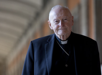 Cardinal Theodore McCarrick (File Photo)