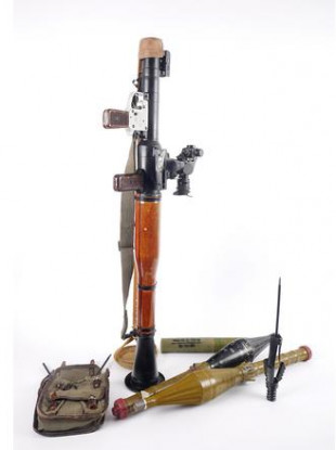 The RPG rocket launcher