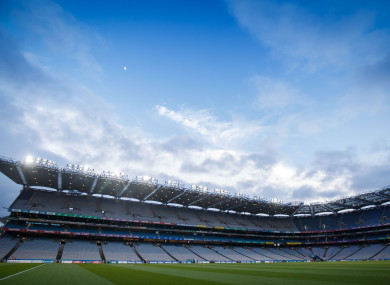 Who will progress to the 2019 football league finals in Croke Park?