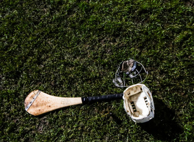A general view of hurling.