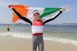 Annalise Murphy after winning silver in Rio.
