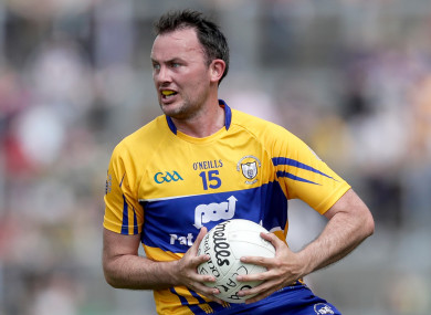 David Tubridy scored 1-3 for Clare on Sunday.