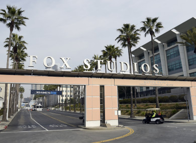 Fox Studios in Los Angeles