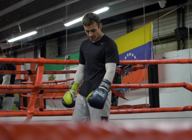 Jake Hanney made his name as a boxer in Australia.