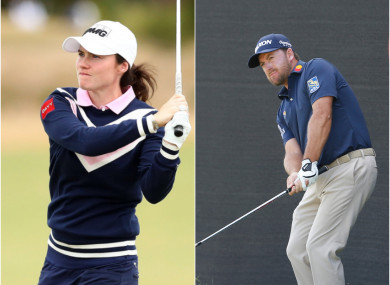 Leona Maguire and Graeme McDowell are both on the cusp of wins.
