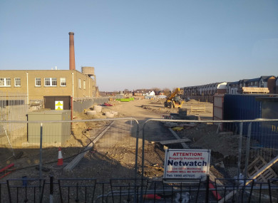 The former Smurfit Printworks site.