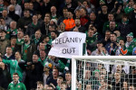 Tennis balls reign down on the Aviva Stadium in anti-John Delaney protest