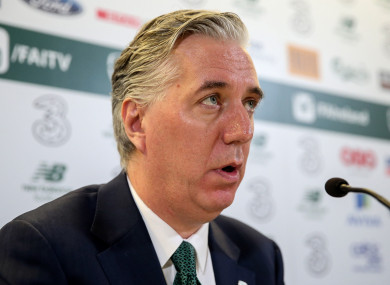 John Delaney, the former CEO of the FAI.