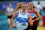 Kate Veale of West Waterford AC pictured competing at Irish Life Health National Senior Indoor Championships.