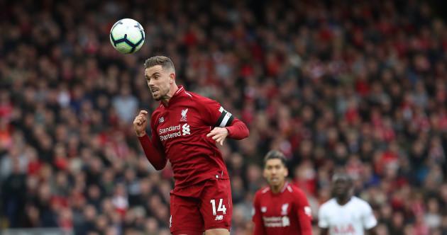 As it happened: Liverpool vs Tottenham, Premier League