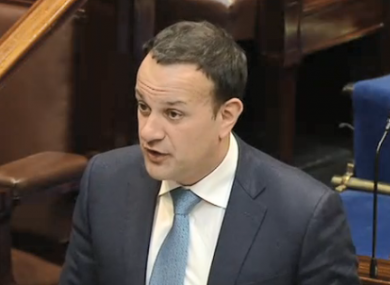 Leo Varadkar said the government is considering increasing the €200 million cap but said the