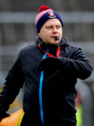Cavan manager Mickey Graham.