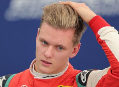 Mick Schumacher, son of F1 legend Michael (file pic).