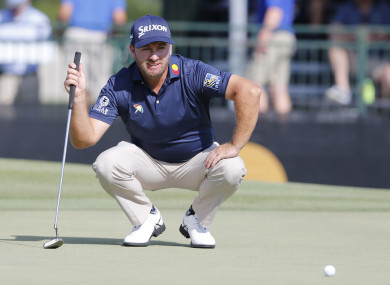 Graeme McDowell during his second round at the Arnold Palmer Invitational.