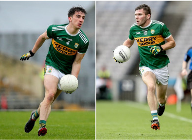 Brian Ó Beaglaíoch and Kevin McCarthy will both start against Monaghan.