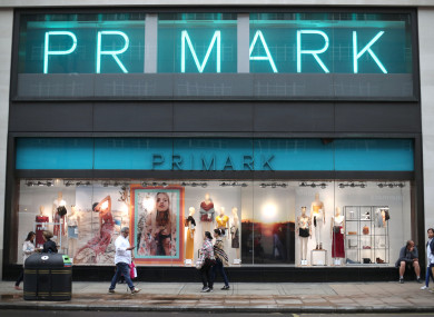 Primark store, Oxford Street, London.