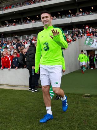 Former Irish captain Robbie Keane.