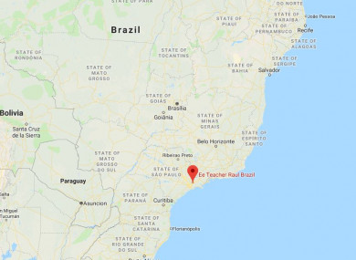 The shootings took place at a school in Sao Paulo
