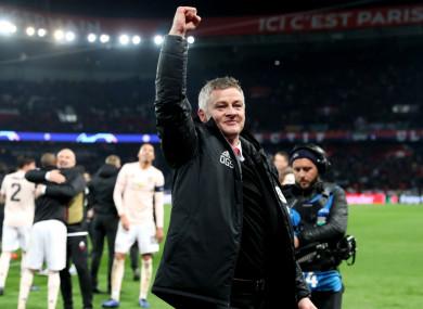New full-time Manchester United manager Ole Gunnar Solskjaer