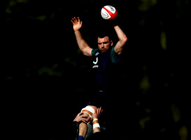 Beirne: Six Nations debut on Saturday.