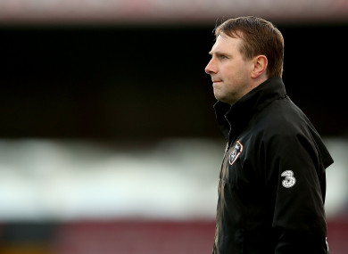 File photo of Irish U19s manager, Tom Mohan.