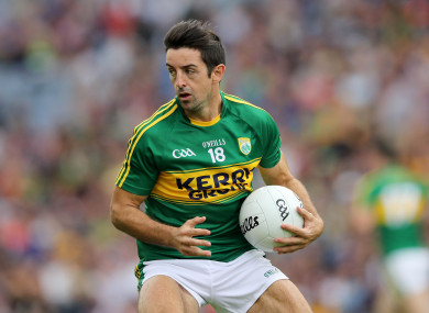 Aidan O'Mahony, playing for Kerry in 2016.