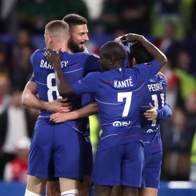 Chelsea were 4-1 winners at Stamford Bridge.