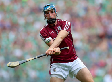 Conor Cooney the latest injury worry for the Galway hurlers.