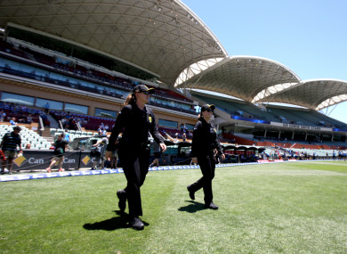 Polosak also made history in December, as she and Eloise Sheridan were the first female duo to umpire a Women's Big Bash League (WBBL) match.
