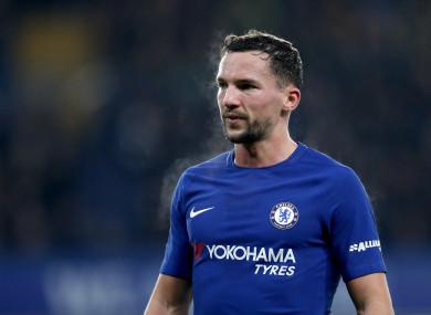 Chelsea midfielder, Danny Drinkwater.